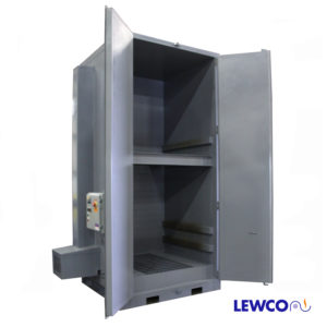 Hot box, hot boxes, tote heaters, heating chamber, box oven, heating cabinet, tote heating cabinet, electric