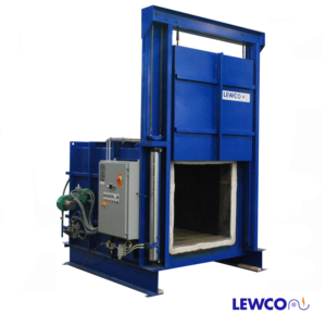 Industrial Oven, Industrial Batch Oven, custom industrial oven, custom batch oven, 1000F industrial oven, high temp oven, cabinet oven